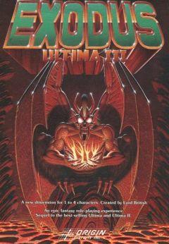 Jaquette de Ultima III : Exodus Atari 8-Bit