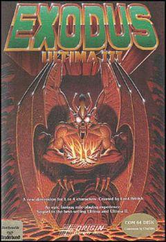 Jaquette de Ultima III : Exodus Commodore 64
