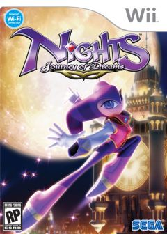 Jaquette de NiGHTS : Journey of Dreams Wii