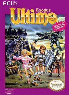 Jaquette de Ultima III : Exodus NES