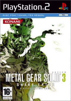 Jaquette de Metal Gear Solid 3 : Snake Eater PlayStation 2