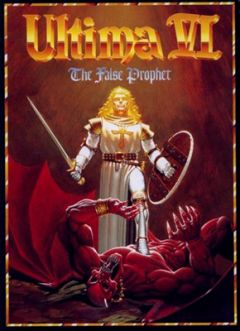 Jaquette de Ultima VI : The False Prophet Commodore 64