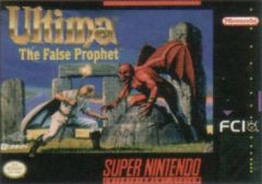 Jaquette de Ultima VI : The False Prophet Super NES
