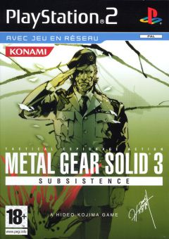 Metal Gear Solid 3 : Subsistence (PlayStation 2)