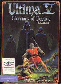 Jaquette de Ultima V : Warriors of Destiny Amiga