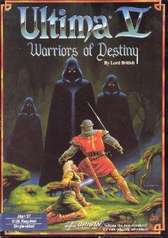 Jaquette de Ultima V : Warriors of Destiny Atari ST