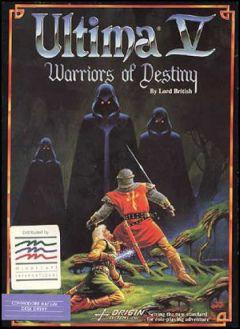 Jaquette de Ultima V : Warriors of Destiny Commodore 64