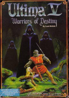 Jaquette de Ultima V : Warriors of Destiny PC