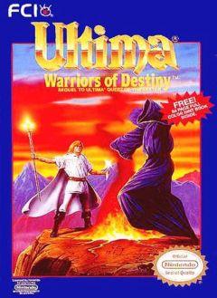 Jaquette de Ultima V : Warriors of Destiny NES