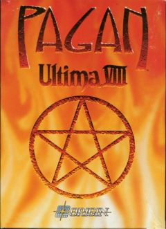 Jaquette de Ultima VIII : Pagan PC