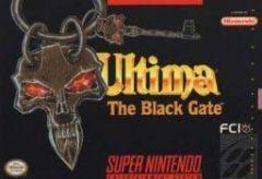 Jaquette de Ultima VII : La Porte Noire Super NES