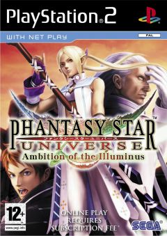 Jaquette de Phantasy Star Universe : Ambition of the Illuminus PlayStation 2
