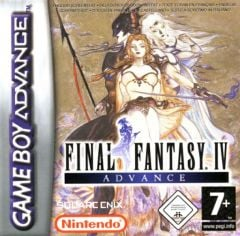 Jaquette de Final Fantasy IV Advance Game Boy Advance