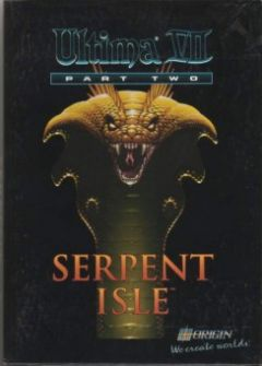 Jaquette de Ultima VII Part II : Serpent Isle PC