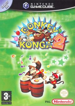 Jaquette de Donkey Konga 2 GameCube