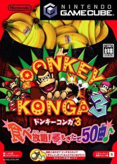 Jaquette de Donkey Konga 3 GameCube