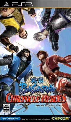 Jaquette de Sengoku Basara : Chronicle Heroes PSP