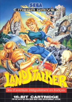Jaquette de Landstalker Mega Drive