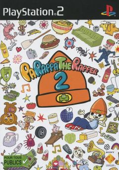 Jaquette de PaRappa the Rapper 2 PlayStation 2