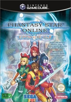 Jaquette de Phantasy Star Online Episode I & II GameCube