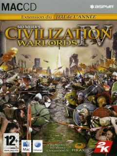 Jaquette de Civilization IV : Warlords Mac