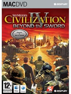 Jaquette de Civilization IV :  Beyond the Sword Mac