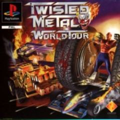 Jaquette de Twisted Metal : World Tour PlayStation