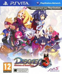 Jaquette de Disgaea 3 : Absence of Detention PS Vita