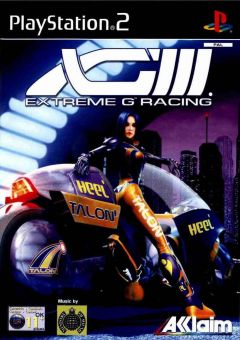 Jaquette de XGIII : Extreme G Racing PlayStation 2
