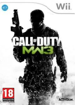 Jaquette de Call of Duty : Modern Warfare 3 Wii