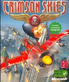 Jaquette de Crimson Skies PC