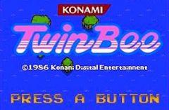 Jaquette de 3D Classics TwinBee Nintendo 3DS