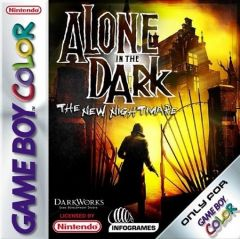 Jaquette de Alone in the Dark : The New Nightmare Game Boy Color