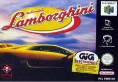 Jaquette de Automobili Lamborghini Nintendo 64