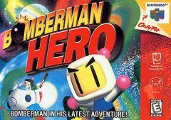 Jaquette de Bomberman Hero Nintendo 64