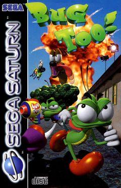 Jaquette de Bug Too! Sega Saturn