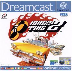 Jaquette de Crazy Taxi 2 Dreamcast