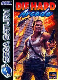 Jaquette de Die Hard Arcade Sega Saturn