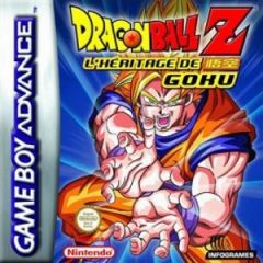 Jaquette de Dragon Ball Z : L'héritage de Goku Game Boy Advance