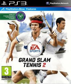 Jaquette de Grand Chelem Tennis 2 PlayStation 3