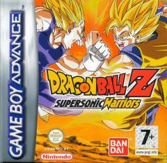 Jaquette de Dragon Ball Z : Supersonic Warriors Game Boy Advance