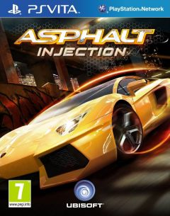 Jaquette de Asphalt Injection PS Vita