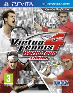 Jaquette de Virtua Tennis 4 PS Vita