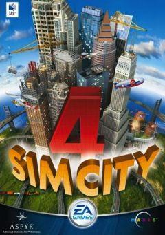 Jaquette de SimCity 4 Mac