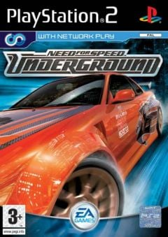 Jaquette de Need for Speed Underground PlayStation 2