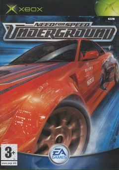Jaquette de Need for Speed Underground Xbox