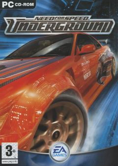 Jaquette de Need for Speed Underground PC