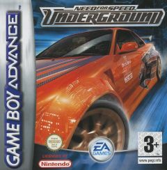 Jaquette de Need for Speed Underground Game Boy Advance