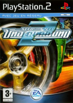 Jaquette de Need for Speed Underground 2 PlayStation 2