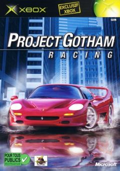 Jaquette de Project Gotham Racing Xbox